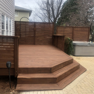 Mooresville Deck In Canyon Brown Oil-Based Stain