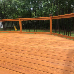 Mooresville Deck in Toast Oil-Based Stain